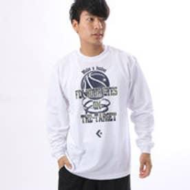 コンバース CONVERSE ユニセックス バスケットボール 長袖Tシャツ 7F プリントロングスリーブシャツ CB272315L