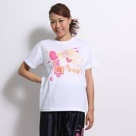 【アウトレット】コンバース CONVERSE バスケットボールTシャツ ウィメンズプリントTシャツ CB352301 ホワイト (ホワイト)