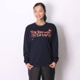 【アウトレット】コンバース CONVERSE バスケットボールTシャツ ウィメンズプリントロングスリーブシャツ CB352303L ネイビー (ネイビー)