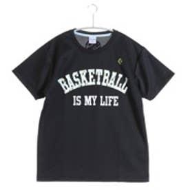 コンバース CONVERSE バスケットボールTシャツ ウィメンズプリントTシャツ CB361301    (ブラック×ホワイト)