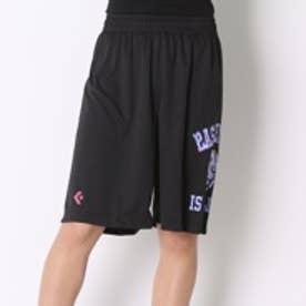 コンバース CONVERSE バスケットボールプラクティスパンツ ウィメンズプラクティスパンツ CB361801    (ブラック×パープル)
