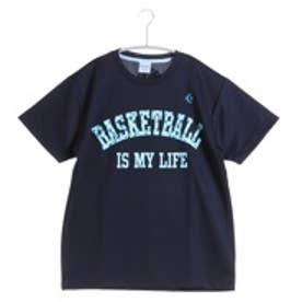 コンバース CONVERSE バスケットボールTシャツ ウィメンズプリントTシャツ CB361301    (ネイビー)