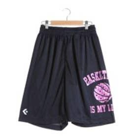 コンバース CONVERSE バスケットボールプラクティスパンツ ウィメンズプラクティスパンツ CB361801    (ネイビー×ホワイト)