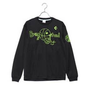 コンバース CONVERSE レディース バスケットボール 長袖Tシャツ 8F ウィメンズプリントロングスリーブシャツ CB382304L