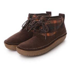 コロンビア Columbia ブーツ  CLニューベリーBO0132  (ブラウン×オレンジ)
