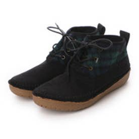 コロンビア Columbia ブーツ  CLニューベリーBB0131  (ブラック×ブルー)