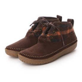 コロンビア Columbia ブーツ  CLニューベリーBO4468  (ブラウン×オレンジ)
