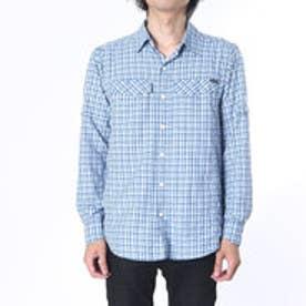コロンビア Columbia アウトドアシャツ シルバーリッジプラッドロングスリーブシャツ AE7441