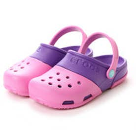 クロックス crocs ジュニアサンダル  CRエレクトロ PK ピンク (ピンク)