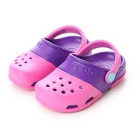 クロックス crocs ジュニアサンダル Electro 2.0 Clog Party Pink/Neon Purple C10 15608-6CP-C10 (パーティー ピンク/ネオン パープル)