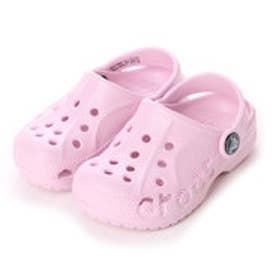 クロックス crocs ジュニアサンダル  10190-6GD (ピンク)