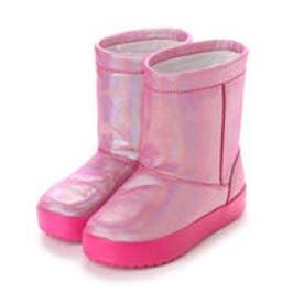 クロックス CROCS ジュニア ロングブーツ WINTER lodgepoint novelty boot kids 204661-6X0 4408