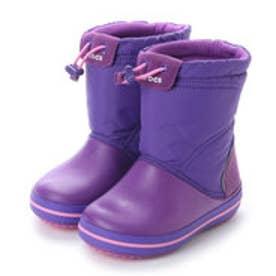 クロックス CROCS ジュニア ロングブーツ WINTER crocband lodgepoint boot kids 203509-5G2 4404