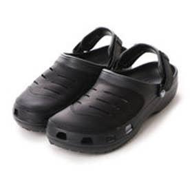 クロックス crocs サンダル  CRユーコン BK ブラック (ブラック)