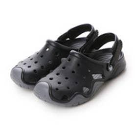 クロックス crocs サンダル シフトウォーター Swiftwater Clog Black/Charcoal M10 202251-070-M10