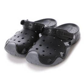 クロックス crocs メンズ スポーツサンダル Swiftwater Clog 202251 (Black/Charcoal)