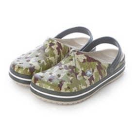 クロックス crocs サンダル Crocband? Camo Clog Dusty Olive M10/W12 203191-3J5-M10W12 (ダスティ オリーブ)
