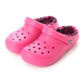 クロックス crocs ユニセックス クロッグサンダル Classic Lined Pattern Clog 203593-6JJ (Candy Pink/Berry)