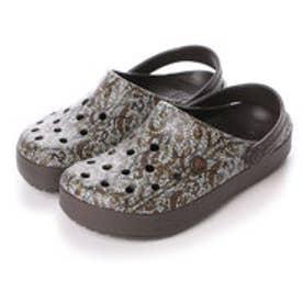 クロックス crocs ユニセックス クロッグサンダル CrocbandCable Knit Clog 203609-206 (Espresso)