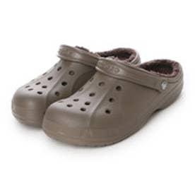 クロックス crocs ユニセックス クロッグサンダル Crocs Winter Clog 203766-23J (Walnut/Espresso)