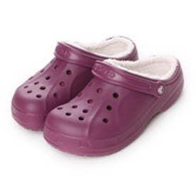 クロックス crocs ユニセックス スポーツサンダル Crocs Winter Clog 203766 (Plum/Oatmeal)