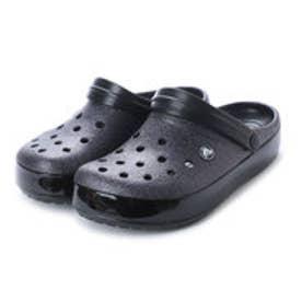 クロックス crocs クロッグサンダル Crocband Glitter Clog 205419-001 (ブラック)