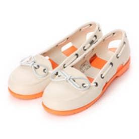 【アウトレット】クロックス crocs サンダル  CRボートシューWO ホワイト (ホワイト)