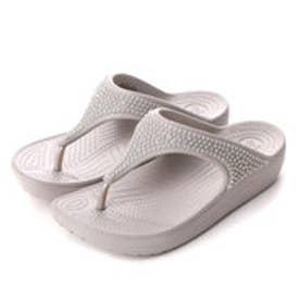 クロックス crocs サンダル  203128-018 (ホワイト)