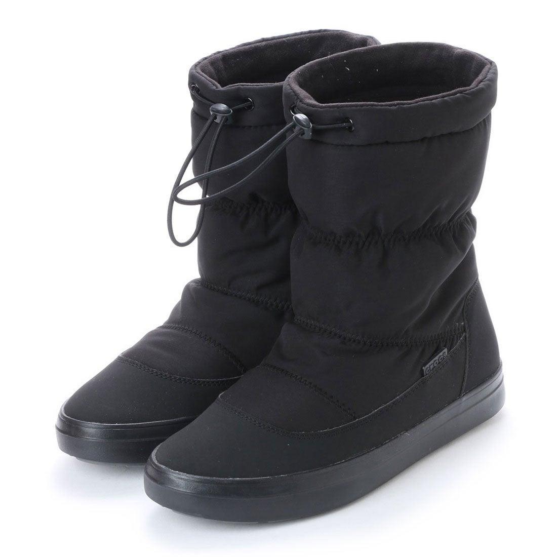 8b85081368cb26 crocs クロックス CROCS レディース ロングブーツ WINTER lodgepoint pull-on boot w 203422-001  4403 -レディースファッション通販 ロコンドガールズコレクション ...