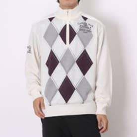 カッター バック CUTTER & BUCK ゴルフセーター  CBM4155 (ホワイト)