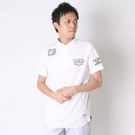 【アウトレット】カッター バック CUTTER & BUCK ゴルフシャツ 半袖ニツトシヤツ CBM2715 (ホワイト)