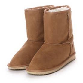 【アウトレット】ダテハキ Datehaki ブーツ 防水 ムートン風ブーツ ME3332 ブラウン 4221 (ブラウン)