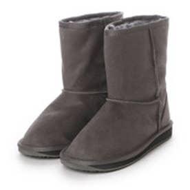 ダテハキ Datehaki ブーツ 防水 ムートン風ブーツ ME3332 グレー 4222 (グレー)