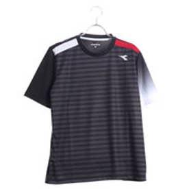 ディアドラ Diadora メンズ テニス 半袖 Tシャツ グラフィックトップ DTP8532