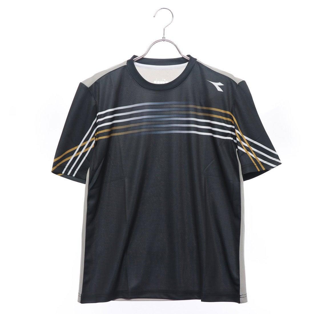 0014afaba2d2d ディアドラ Diadora メンズ テニス 半袖Tシャツ CSCグラフィックトップ DTP8583 -レディースファッション通販  ロコンドガールズコレクション (ロココレ)