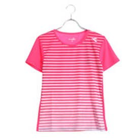 ディアドラ Diadora レディース テニス 半袖 Tシャツ W グラフィックトップ DTL8547