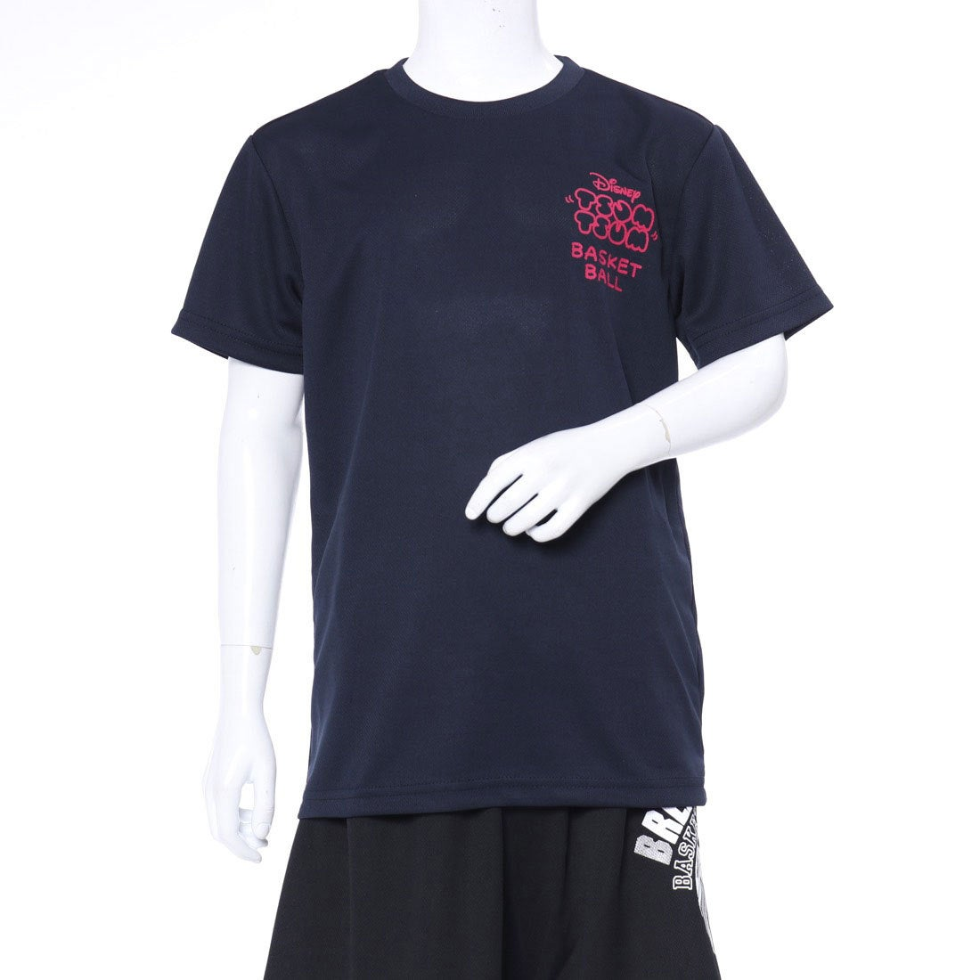ディズニー Disney ジュニア バスケットボール 半袖 Tシャツ DN-8KW4018TSTM DN-8KW4018TSTM
