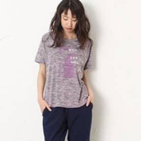 ダンスキン DANSKIN レディース フィットネス 半袖Tシャツ ワイドT DB77122