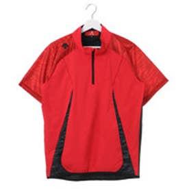 デサント DESCENTE ジュニア 野球 半袖ウインドブレーカー ハイブリッドシャツ PJ-325