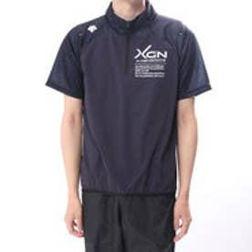 デサント DESCENTE メンズ 野球 半袖 ウインドブレーカー ハイブリッドシャツ DBMLJF30A