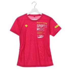 デサント DESCENTE レディース バレーボール 半袖Tシャツ 半袖プラクティスシャツ DVB-5728W