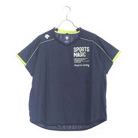 デサント DESCENTE レディース バレーボール 半袖Tシャツ 半袖プラクティスピステ DVB-3762W
