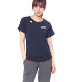 デサント DESCENTE レディース バレーボール 半袖プラクティスシャツ 半袖プラクティスシャツ DVWMJA50