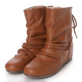 【アウトレット】イーストナイン Eastnine ブーツ インヒールブーツ No.6620 ブラウン 4383 (ブラウン)