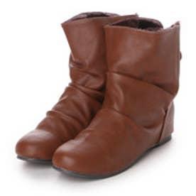 【アウトレット】イーストナイン Eastnine ブーツ インヒールブーツ No.6620 ブラウン 4382 (ブラウン)