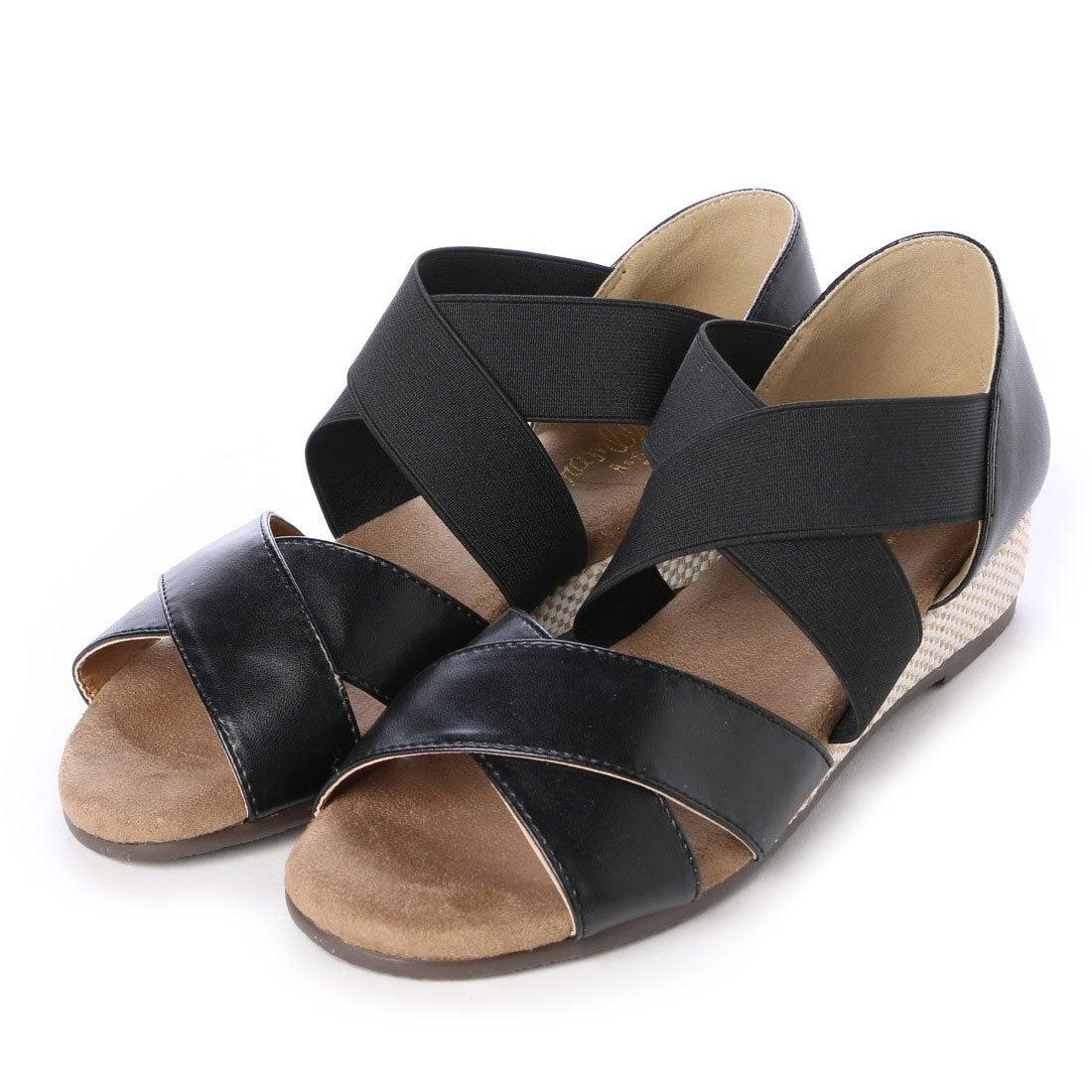 fbd8677a47f77a イーストナイン Eastnine サンダル カジュアルサンダル No.5338 ブラック 4394 (ブラック) ミフト mift  -靴&ファッション通販 ロコンド〜自宅で試着、気軽に返品
