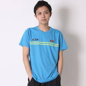 エレッセ ellesse テニスTシャツ プラクティスT ETS16151 ブルー  (アクア)