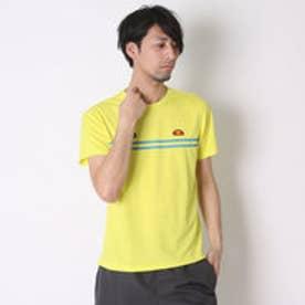 エレッセ ellesse テニスTシャツ プラクティスT ETS16151 イエロー  (レモン)