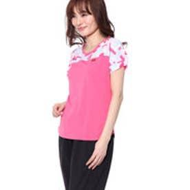 エレッセ ellesse レディース テニス 半袖 Tシャツ Sスリーブツアープラスクルー EW08121