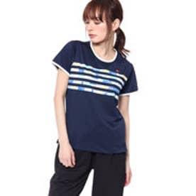 エレッセ ellesse レディース テニス 半袖 Tシャツ ツアー プラス プリズムT EW18114